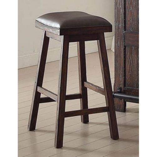 Gettysburg Bar Height Saddle Seat Stool