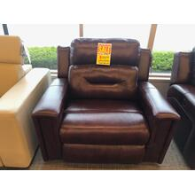 Leather Power Reclner