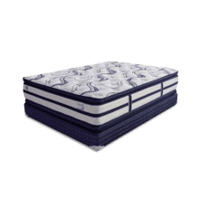 ECCO Eastern King Double Pillow Top Mattress by Golden Mattress Company, Model ECCO