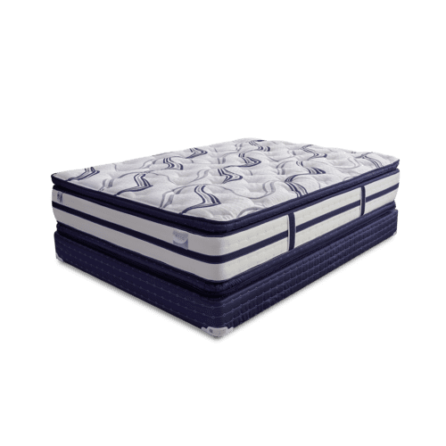 ECCO Queen Double Pillow Top Mattress by Golden Mattress Company, Model ECCO