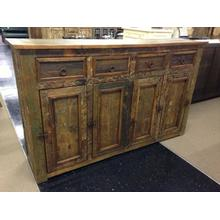 Recycled Solid Wood Credenza