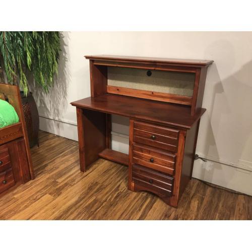 3 Drawer Desk Cocoa