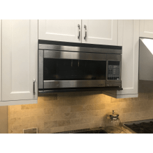 """Discovery 30"""" Over the Range Convection Microwave Hood in Stainless Steel"""