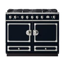 "La Cornue 43"" CornuFe 110 Dark Navy Blue with Stainless Steel Dual Fuel Range"