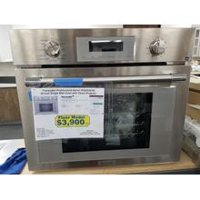 """Thermador Professional Series 30"""" Wall Oven with Steam Program PODS301W (FLOOR MODEL)"""