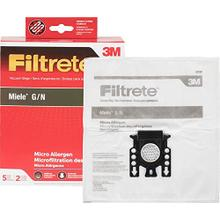 5PK - STYLE GN MIELE SYNTHETIC BAGS & 2 FILTERS