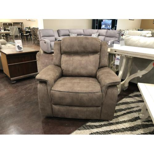 Tan Fabric Recliner