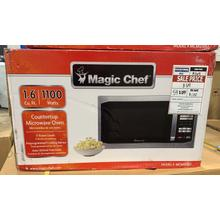 1.6 Cu. Ft. Full-Size Microwave - Stainless steel **CLEARANCE ITEM** West Des Moines Location
