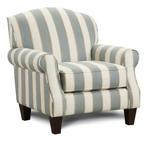 Fusion Accent Chair Stripe
