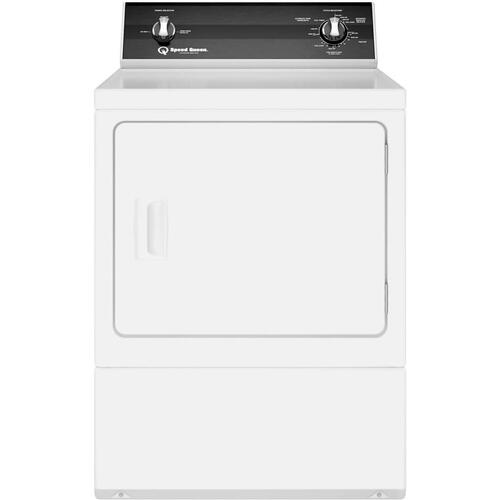 Speed Queen 7.0CF White Electric Dryer