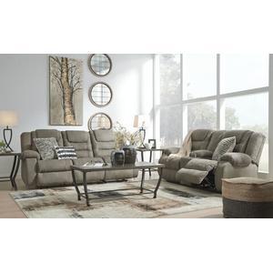 McCade- Cobblestone Reclining Sofa and Loveseat