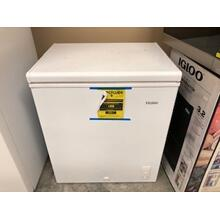 Used Haier 5 Cubic Feet Chest Freezer