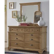 732-002 dresser and mirror