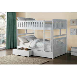 Galen Bunk Bed Full on Full with Storage Drawers