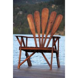 Canoe Paddle Chair