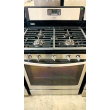 See Details - USED- 5.0 Cu. Ft. Freestanding Gas Range with AccuBake® Temperature Management System- G30SSSTV-U SERIAL #127