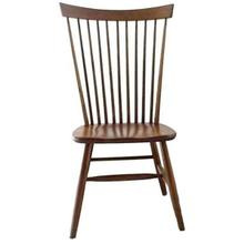 Amish Buckeye Straight Back Chair
