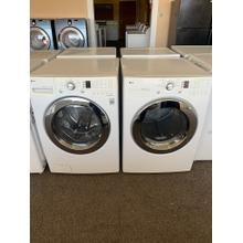 REFUBISHED LG Front Load Washer Dryer Set Please call store if you would like additional pictures. This set carries our 6 month warranty, MANUFACTURER WARRANTY AND REBATES ARE NOT VALID (Sold only as a set)