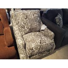 Milan Accent Chair in Canterbury Stonewash Fabric