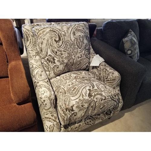 Milan Accent Chair in Canterbury Stonewash Fabric