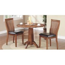 "40"" Round Table and 2 Side Chairs"