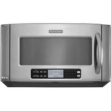 Kitchenaid 2.0CF Stainless Steel Convection Over the Range Microwave