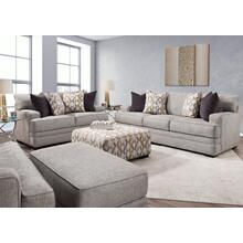 View Product - FRANKLIN 95340-3932-25-95320-3932-25-95388-3932-25-95318-3932-25 Protege Crosby Dove Sofa, Loveseat, Chair & Ottoman Group