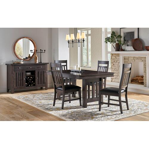 Bremerton Grey Table and 4 Chairs