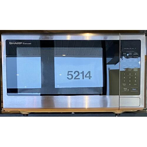 Sharp  SMC2242DS   2.2 cu. ft. 1200W Stainless Steel Countertop Microwave Oven