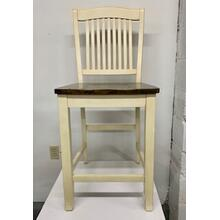 """Beaver Creek"" Slat Back Counter STool"