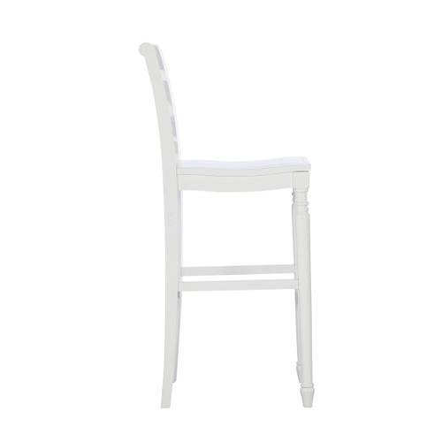 Sullivan Barstool- White