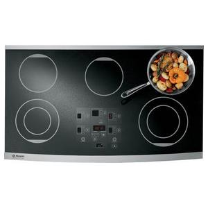 "Monogram 36"" Digital Electric Cooktop"