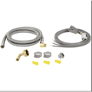 Petra - BRAIDED STAINLESS STEEL DISHWASHER INSTALLATION KIT, 6FT