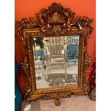 View Product - LaBarge Hand Carved Mirror - B