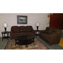 3030 Chocolate Sofa & Loveseat