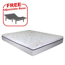 Buy the BEDTECH Felicity King Mattress, get a FREE Adjustable Base
