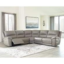 View Product - Dunleith 5 Piece Power Reclining Sectional