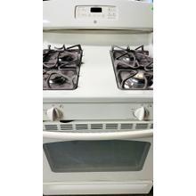 "Product Image - USED- GE 30"" Free-Standing Self-Cleaning Gas Range- G30BISTV-U  SERIAL #24"
