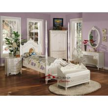 Acme 01000 Pearl Post Bedroom set Houston Texas USA Aztec Furniture
