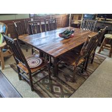 See Details - Mission Trestle Dining Table