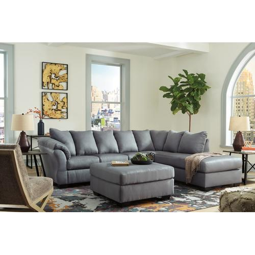 CLEARANCE Darcy 2 Piece Sectional - Cobblestone