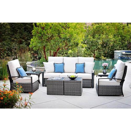 Barcalounger Outdoor Living - 3 Seater Sofa with Twin Recliners