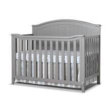 Fairview 4-In-1 Convertible Crib - Stone Grey