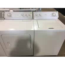 Used Whirlpool Washer and Gas Dryer SET