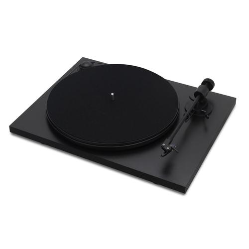 Spindeck Turntable with Cartridge - Black