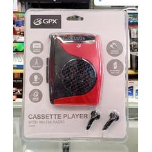 Cassette Player w/ AM/FM Radio