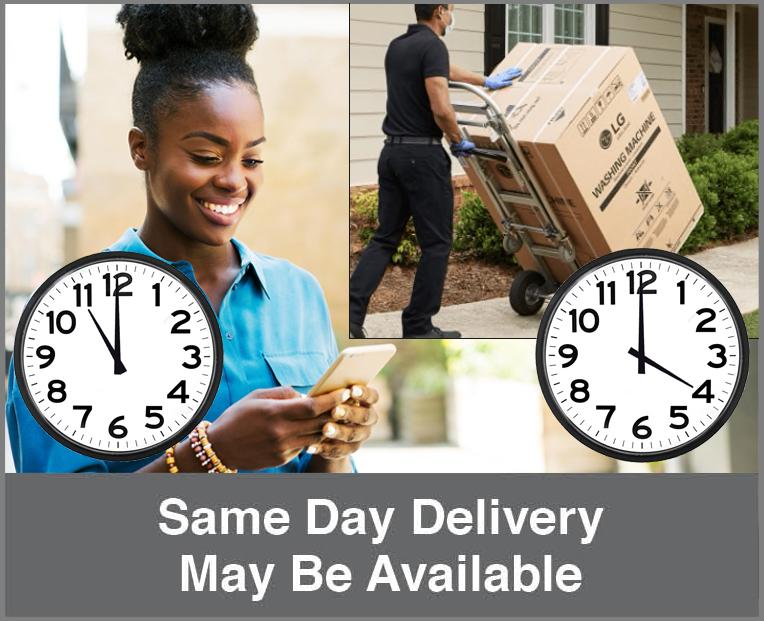 Same day delivery may be available