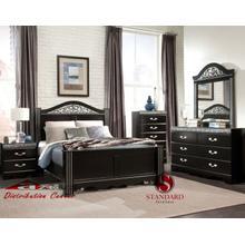 Standard Furniture 69550 Odessa Black Bedroom set Houston Texas USA Aztec Furniture