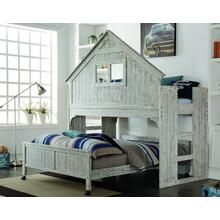 Rustic Clubhouse Twin Loft Bed