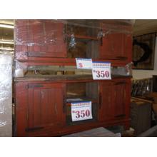 See Details - red tv console
